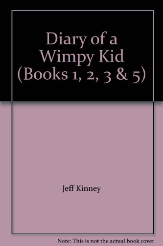 Diary of a Wimpy Kid (Books 1, 2, 3 & 5)