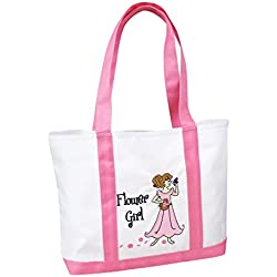 Lillian Rose WG150 FG Flower Girl Nylon Tote