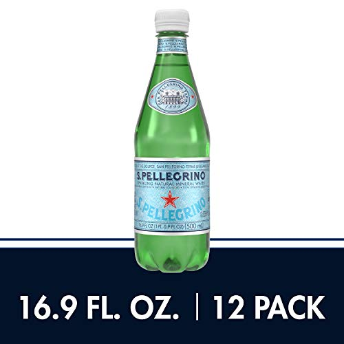 (S.Pellegrino Sparkling Natural Mineral Water, 16.9 fl oz. (12 Count))