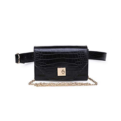 Moda Luxe Women's Stylish Vera Croc Print Belt Bag, Crossbody, Assorted Colors