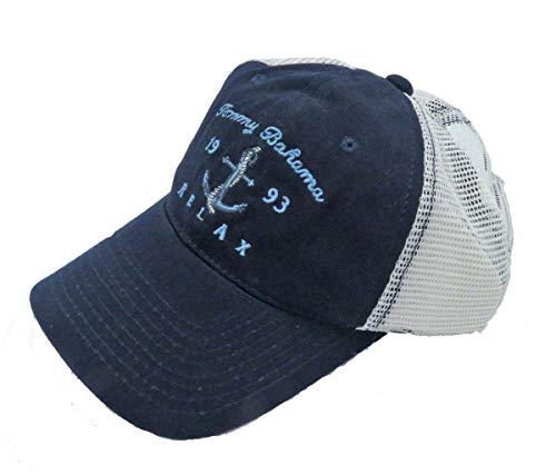 - Tommy Bahama Men's Mesh Back Navy Relax Cap