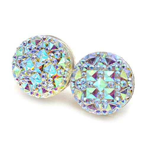 Angel3292 1Pair Muslim Round Magnet Brooch Pins Clasp Hijab Scarf Abaya Clothes Jewelry Gift by Angel3292 (Image #8)