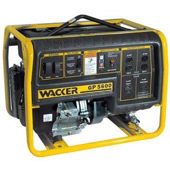 GP5600A - Wacker GP5600A Premium Portable Generator Portable Generator Wacker