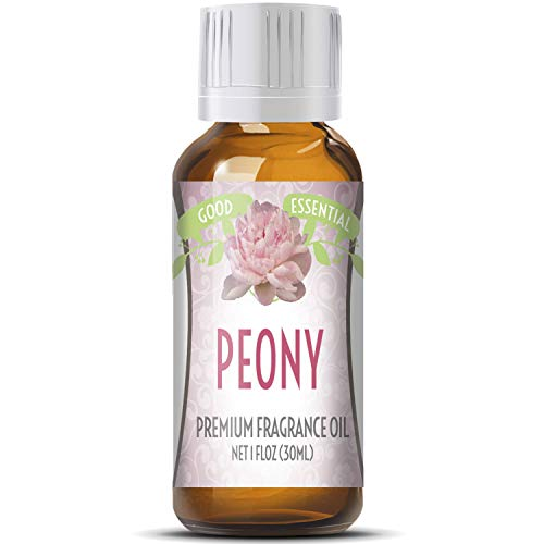 (Peony Scented Oil by Good Essential (Huge 1oz Bottle - Premium Grade Fragrance Oil) - Perfect for Aromatherapy, Soaps, Candles, Slime, Lotions, and More!)