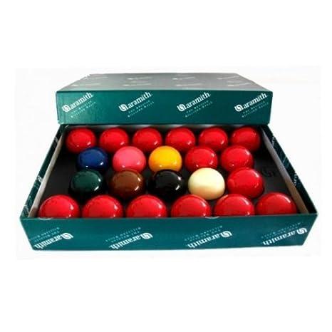 5,08 cm bolas de billar Aramith Premier - 15 rojos, 22 juego de ...
