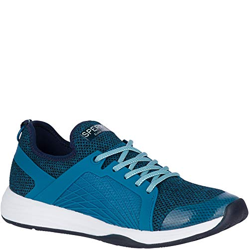 (Sperry Top-Sider H2O Mooring Sneaker Women 7.5 Blue)