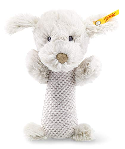 (Steiff Buster Puppy Baby Rattle)