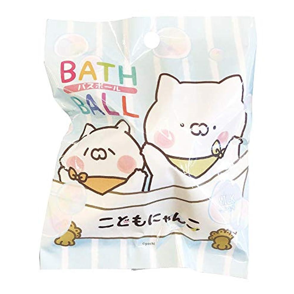 一致ずらす蜜こどもにゃんこ 入浴剤 バスボール おまけ付き ミルクの香り 50g ABD-043-001
