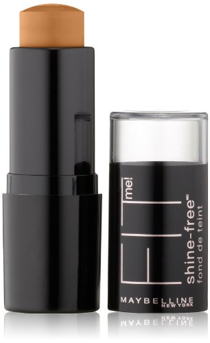 (Maybelline New York Fit Me! Oil-Free Stick Foundation, 340 Cappuccino, 0.32 Ounce)