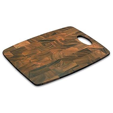 End Grain Cutting Board, Acacia Wood