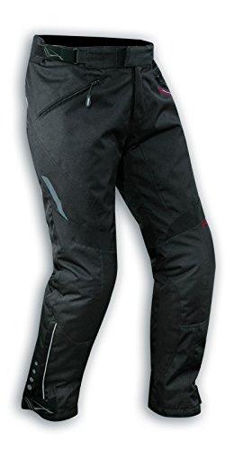 A-pro Wasserdichte Motorrad Textil Hose Thermofutter Atmungsaktiv Schwarz 34
