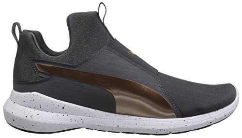 Sneaker Rebel Mid WNS bronze PUMA Women's Speckles Asphalt vqZ44