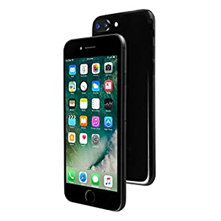 Apple iPhone 7 Plus, 256GB, Jet Black - Fully Unlocked (Renewed)