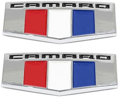 OEM NEW Right and Left Front Fender Camaro Emblem Set 10-15 Chevrolet 22752666