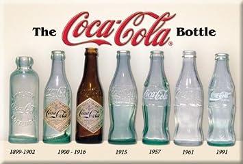 Retro Kühlschrank Coca Cola : Amazon.de: 2 x 3 coca cola coke flasche geschichte retro vintage