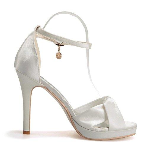 L@YC 5915-17 Zapatos De Boda Para Mujer / Colgantes De Hebilla acogedora artesanía De Fiesta Y De Oficina Nueva Purple