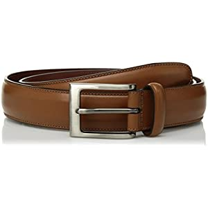 Perry Ellis Men's Portfolio Timothy Belt, Cognac, 40