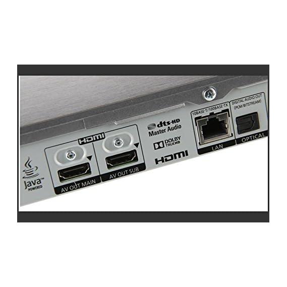 Panasonic DMP-BDT460 2K/4K - TWIN HDMI OUTPUTS -2D/3D - Wi-Fi Multi Region Zone Free Blu Ray DVD Player - PAL/NTSC