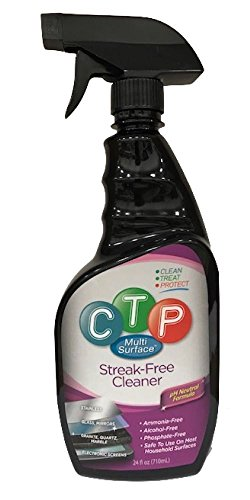 CTP Multi Surface Cleaner for Stainless, Granite, Glass, Electronic Screens, Wood and More from CTP Multi-Surface
