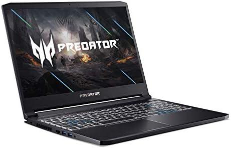 Acer Predator Triton 300 Gaming Laptop, Intel i7-10750H, NVIDIA GeForce RTX 2070 Max-Q, 15.6″ FHD 240Hz 3ms IPS Display, 16GB Dual-Channel DDR4, 512GB NVMe SSD, WiFi 6, RGB Backlit KB, PT315-52-73WT 41sD6AUOX L