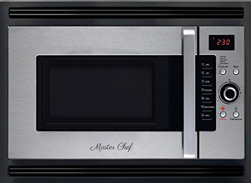 24″ Over the Range High Speed Convection Microwave Oven including Cooktop Light & Cooktop Exhaust Fan/Filter Stainless Steel/Black. Space Saving Design: Tiny House, Apartment, Condo, RV, Boat & More