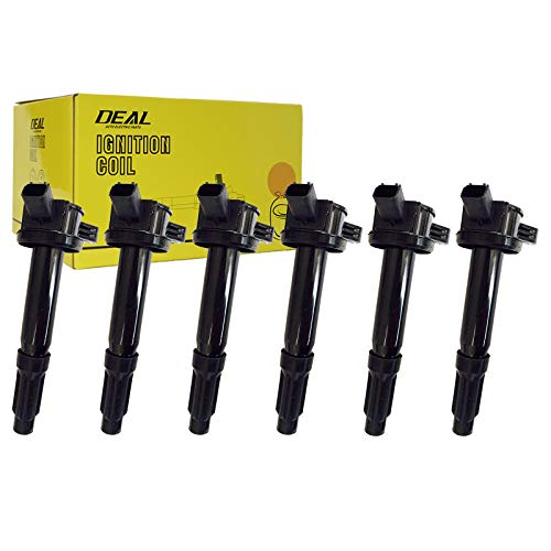 (DEAL Set of 6 New Ignition Coil Plug Pack For 09-12 Ford Escape 06-12 Fusion 06 Lincoln Zephyr 08-10 Mazda Tribute 09 Mazda Tribute 09-11 Mercury Mariner 06-11 Mercury Milan UF486)