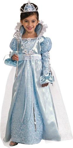 [Rubie's Blue Princess Costume-Small] (Cinderella Play Costumes)