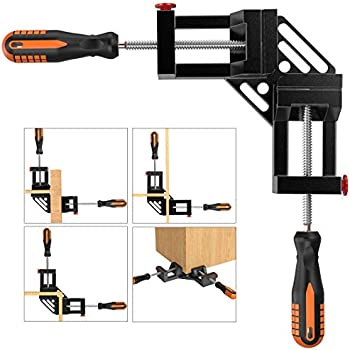 Rapid Clamp Corner Strap 4 Jaws Frame For Picture Frames /& Drawers Black ED