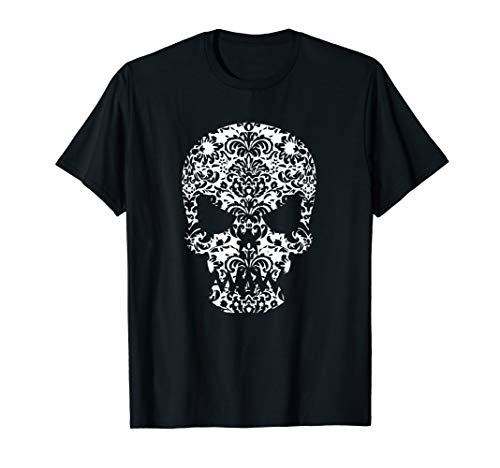 Day of the Dead Skull - Dia de los Muertos  T-Shirt ()