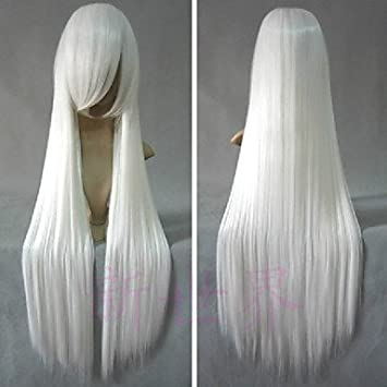 Inuyasha Inu Yasha larga Peluca cosplay la derecha, color ...