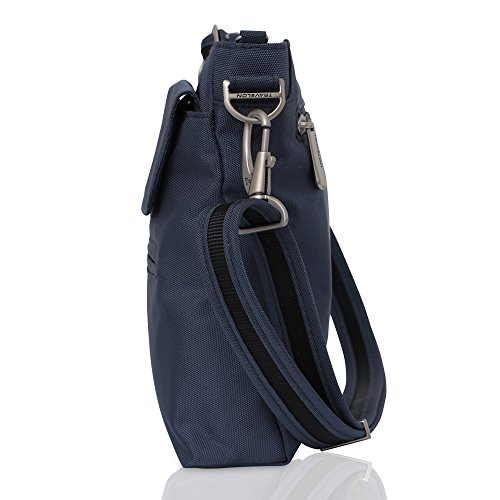 Mini Exclusive Color Tote Travelon Sling Blue Wine Shoulder Women's Bag theft Classic Anti IFOw7ZFn