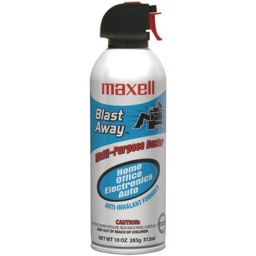 Wholesale CASE of 20 - Maxell All-purpose Duster Canned Air-Canned Air, Nonflammable, 10 oz. by Max