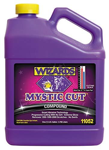 Wizards Buffing Liquid - Cutting Compounds & Polish Machine Glaze (Gallon, Mystic Cut Compound)