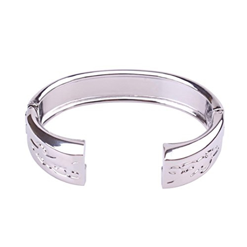 Price comparison product image Alonea Genuine Stainless Metal Band Strap Jewelry Bracelet Bangle For Fitbit Alta (Sliver)