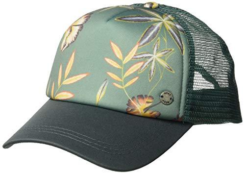 Roxy Women's Water Come Down Trucker Hat, Trellis Bird Flower, One Size (Roxy Cap For Girls)
