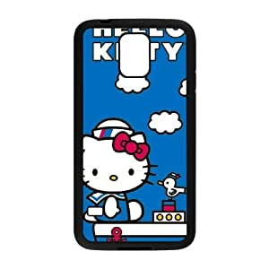 Hello Kitty Sailing Samsung Galaxy S5 Cell Phone Case Black Delicate gift AVS_698010