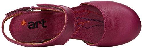 magenta Vaaleanpunainen 1281 Naisten Avoin Memphis Art Sandaalit Magenta Tunnen SFxqU1P