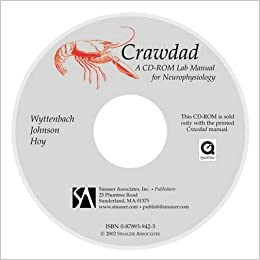 Crawdad a cd rom lab manual for neurophysiology student version crawdad a cd rom lab manual for neurophysiology student version not compatible with mac os x 107 fandeluxe Image collections
