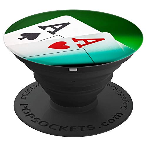 Pocket Aces Poker - PopSockets Grip and Stand for Phones and Tablets