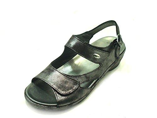 GRÜNLAND Sandales pour Femme Noir Noir k1Ur6y0K