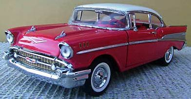 1957 Chevy BelAir 1:24 Scale