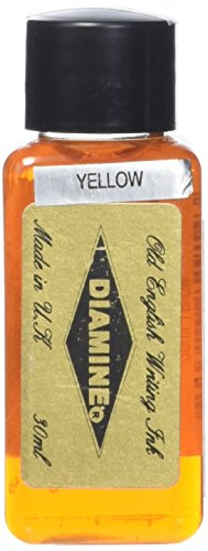 Diamine 30 ml Bottle Fountain Pen Ink, Yellow