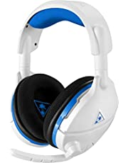 Turtle Beach Stealth 600 Wireless Surround Sound Gaming Headset for PS4 (White)