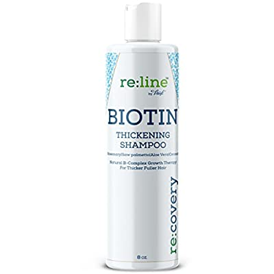 Biotin Shampoo For Hair Growth - Thickening Shampoo For Hair Loss All Natural For Thinning Hair - Rosemary Aloe Vera Coconut - For Women & Men - Sulfate Free Paraben Free - Safe For Color Treated Hair