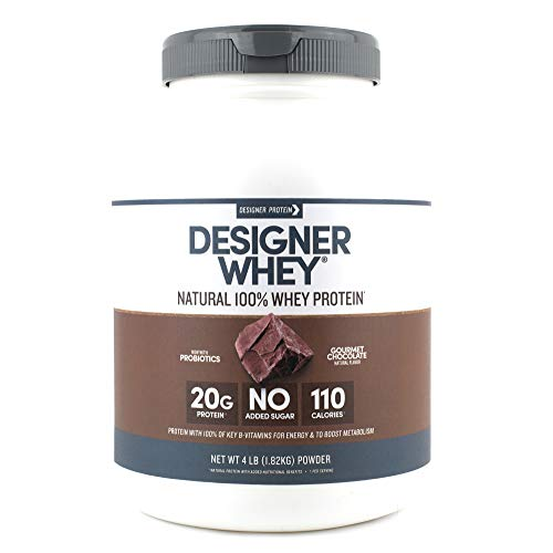 Designer Whey Protein Powder, Gourmet Chocolate, 4 Pound, Non (Best Protein Powder Chocolates)