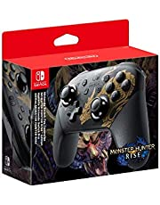 Nintendo Switch Draadloze Pro D-Pad Controller - Monster Hunter: Rise Edition