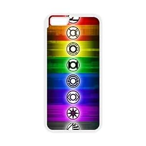 iPhone 6 Plus 5.5 Inch Cell Phone Case White Green Lantern flez
