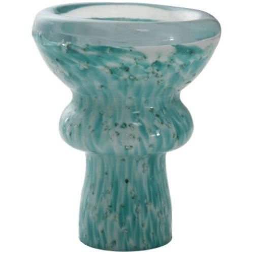 Glow in the Dark Glass Hookah Bowl - Light Green