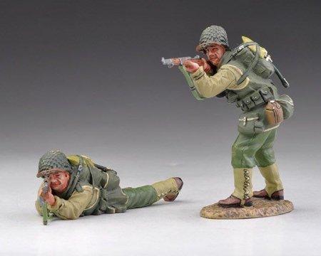 Thomas Gunn Miniatures USA002B US Army Rangers Armed with Rifles