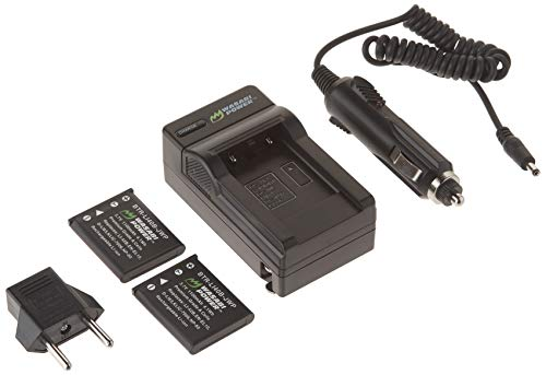 (Wasabi Power Battery (2-Pack) and Charger for Fujifilm NP-45, NP-45A, NP-45B, NP-45S and Fuji FinePix J10, J12, J15, J15fd, J20, J25, J26, J27, J30, J35, J38, J40, J100, J110W, J120,)